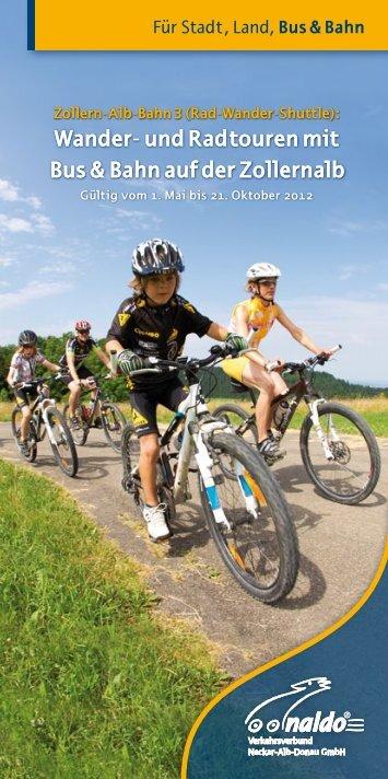 Wander- und Radtouren mit Bus & Bahn auf der ... - Naldoland