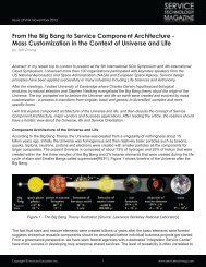 From the Big Bang to Service Component Architecture - Mass ...