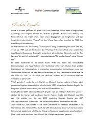 Elisabeth Engstler - Adlmann Promotion