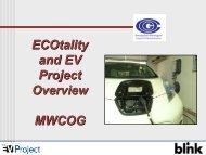 Stephen Schey, ECOtality Presentation