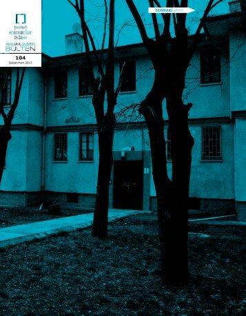 Şubat-Mart 2013 - Mimarlar Odası Ankara Şubesi