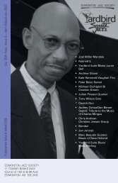 Our 35th Year, Issue 3 – April /May/June 2007 ... - Yardbird Suite