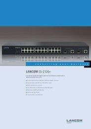LANCOM ES-2126+ - LANCOM Systems