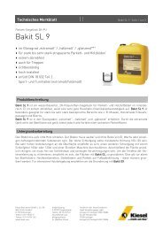 Bakit SL 9_de.pdf - Kiesel Bauchemie GmbH & Co.KG