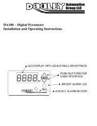 DA100 – Digital Pyrometer