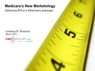 Medicare's New Marketology