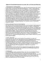 Allgemeine Geschäftsbedingungen (AGB) - Landes-Reit