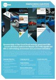 Mazda CX-5 Case Study - Fairfax Media Adcentre