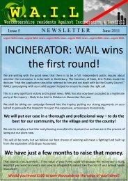 WAIL Newsletter Issue 5 - uk.net
