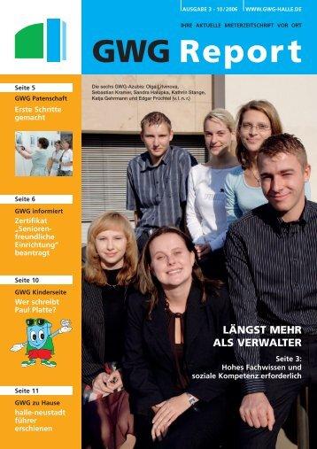 GWG Report - GWG Halle-Neustadt