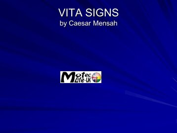 Vital signs, what are they? - MOTEC LIFE-UK