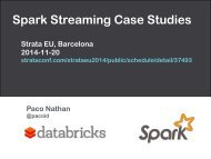 Spark Streaming Case Studies Presentation