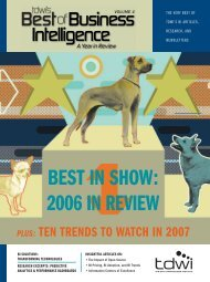 BEST IN SHOW: 2006 IN REVIEW - 1105 Media