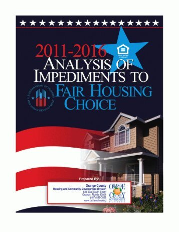 Fair Housing Plan - Orange County Government - OrangeCountyFl.net