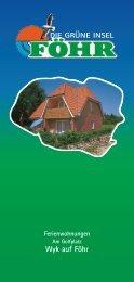 Wyk auf Föhr - ferienwohnungen
