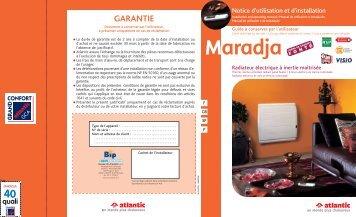 GARANTIE - Atlantic