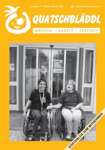 Ausgabe 31 - Kraichgau Werkstatt