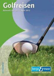 Ihre Golf-Highlights - Berge & Meer