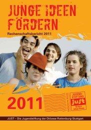 Rechenschaftsbericht 2011 [ pdf | Größe: 1.2 MB ] - Jugendstiftung just