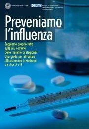 Opuscolo Influenza - Poliambulatorio San Michele