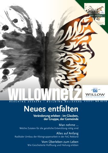 Anmeldungen, Infos + weitere Tagungen - Willow Creek