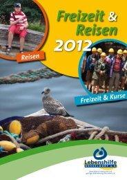Freizeit Reisen 2012 - Lebenshilfe Düsseldorf