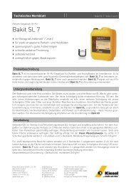Bakit SL 7_de.pdf - Kiesel Bauchemie GmbH & Co.KG