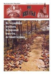 Herbst 2009 - Pfarre Gratwein