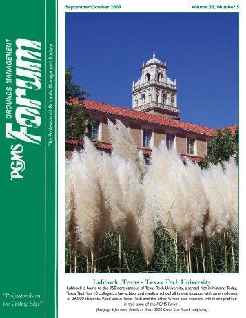 Lubbock, Texas - Texas Tech University - PGMS