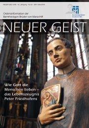 Wie Gott die Menschen lieben - Barmherzige Brüder Trier e. V.