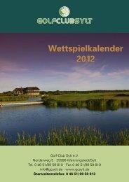 golfhopping auf sylt ab 160 euro - Golf-Club Sylt