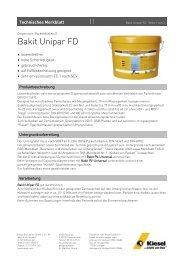 Bakit Unipar FD_de.pdf - Kiesel Bauchemie GmbH & Co.KG
