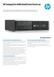 HP Compaq Pro 6300 Small Form Factor