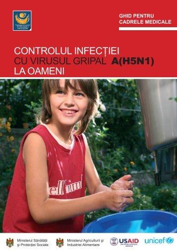 CONTROLUL INFECÅ¢IEI cu VIRuSuL GRIPAL A(H5N1) LA oAmenI