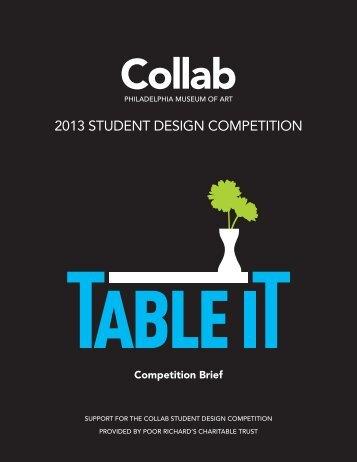 2013 Collab Student Design Competition Brief - Philadelphia ...