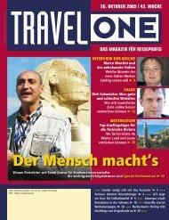 Der Mensch macht's - Travel-One