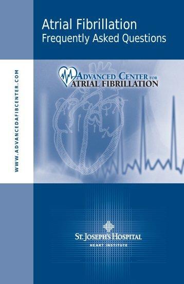 Atrial Fibrillation - St.Joseph's Hospital