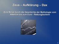 Zeus – Aufklärung – Dax