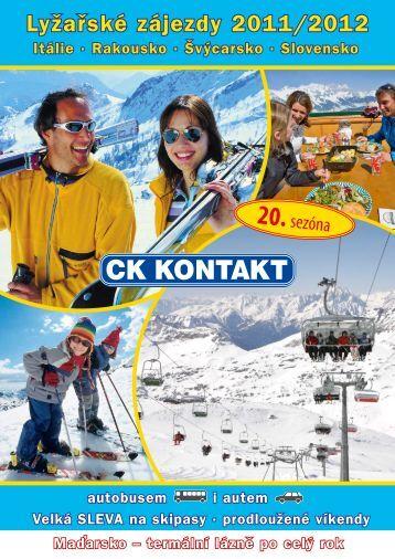 Katalog ZIMA 2011-2012 - CK Kontakt