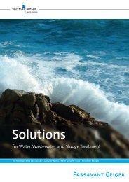 Brochure Solutions - Passavant-Geiger