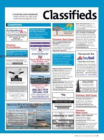 Classifieds - Sail Magazine