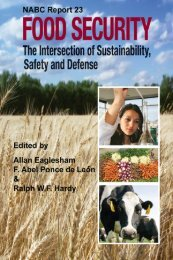 Food Security - National Agricultural Biotechnology Council ...