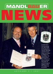 Mandlbauer News 09 - Mandlbauer Bau GmbH
