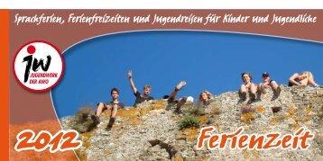 Ferienzeit-JW-2012.pdf - Jugendwerk der AWO Niedersachsen eV