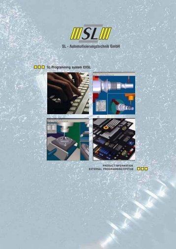 SL-Programming system EXSL - techno volt