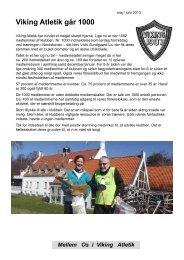 Mellem Os maj 13 - Viking Atletik