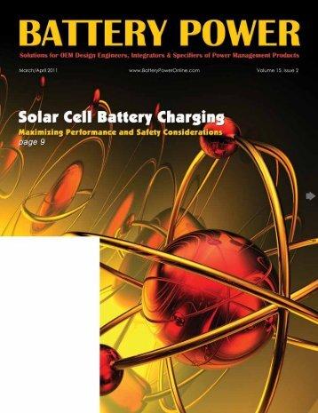Cover - Battery Power Magazine