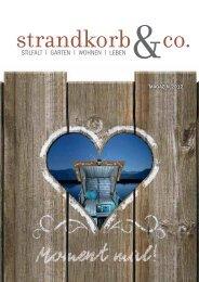 Unser Magazin - Strandkorb & Co.