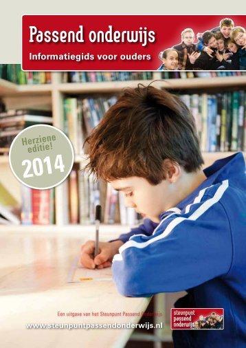 Informatiegids-Passend-Onderwijs-2014
