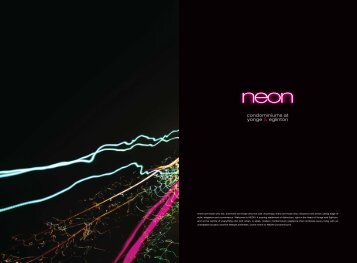NEON 0009 Brochure Concept_final.indd - toronto condos